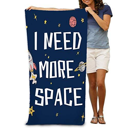 Yocmre Grote Strandhanddoek Zwembad Handdoeken voor badkamer, Gymnastiek en Zwembad Ruimte Grafisch T-shirt Bedrukken embriodery kleding