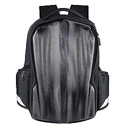 cheap KROSER Travel Laptop Backpack 17.3-inch Carbon Fiber Gaming Computer Backpack