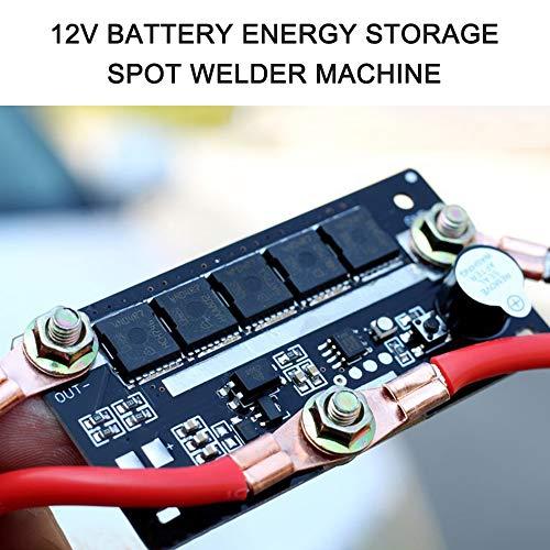Walmeck DIY Tragbare 12V Batterie Energiespeicher Punktschweißmaschine Stift PCB Leiterplatte Schweißstrom 90A ~ 130A
