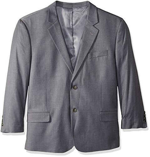 Dockers Men's Big and Tall Stretch Suit Separate, Pant, and Vest, Mid Gray Blazer, 56 Regular