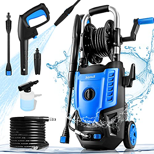 Suyncll Electric Pressure Washer 3500PSI Max 2.8 GPM Power Washer...