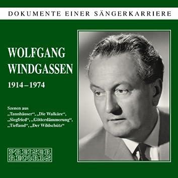 Dokumente einer Sängerkarriere - Wolfgang Windgassen