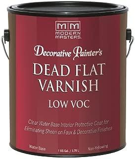 Best modern masters dead flat varnish Reviews