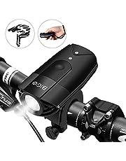 BIGO 純正 自転車ライト フロントライト 非常時懐中電灯 ヘットライト USB充電 IP65 防水 大容量2000mah 前照灯