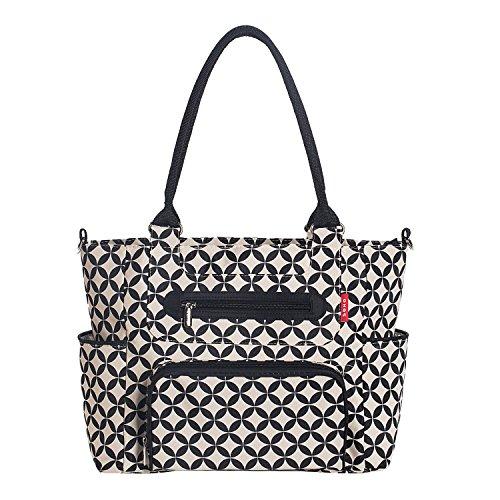 Soho Designs Grand Central Station 7 pieces Diaper Bag