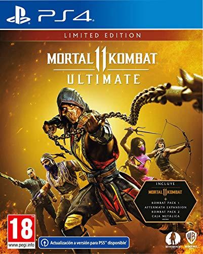 Mortal Kombat 11: Limited Edition PS4 Limitada PlayStation 4