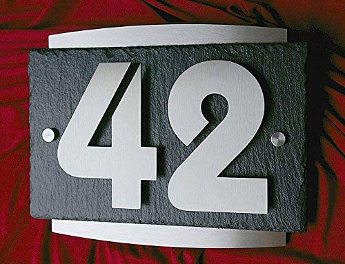 Leskow Metalldesign -   3D Hausnummer aus