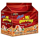 Malaysia Ibumie / Always The Best Selling Instant Noodle / Mi Goreng Asli / Deliciously Tasty, Accomodating Flavors, Suits All Palates (10 packets x 80g)