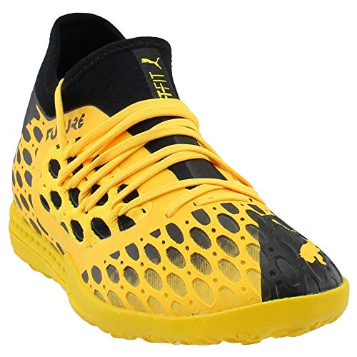 PUMA Mens Future 5.3 Netfit Turf Soccer Cleats - Yellow -...