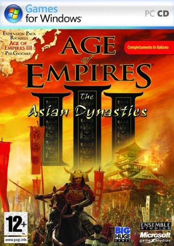 Age Of Empires III: The Asian Dynasties [Importación italiana]