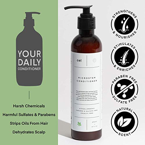 Cel MD Microstem Hair Growth Shampoo and Conditioner Set