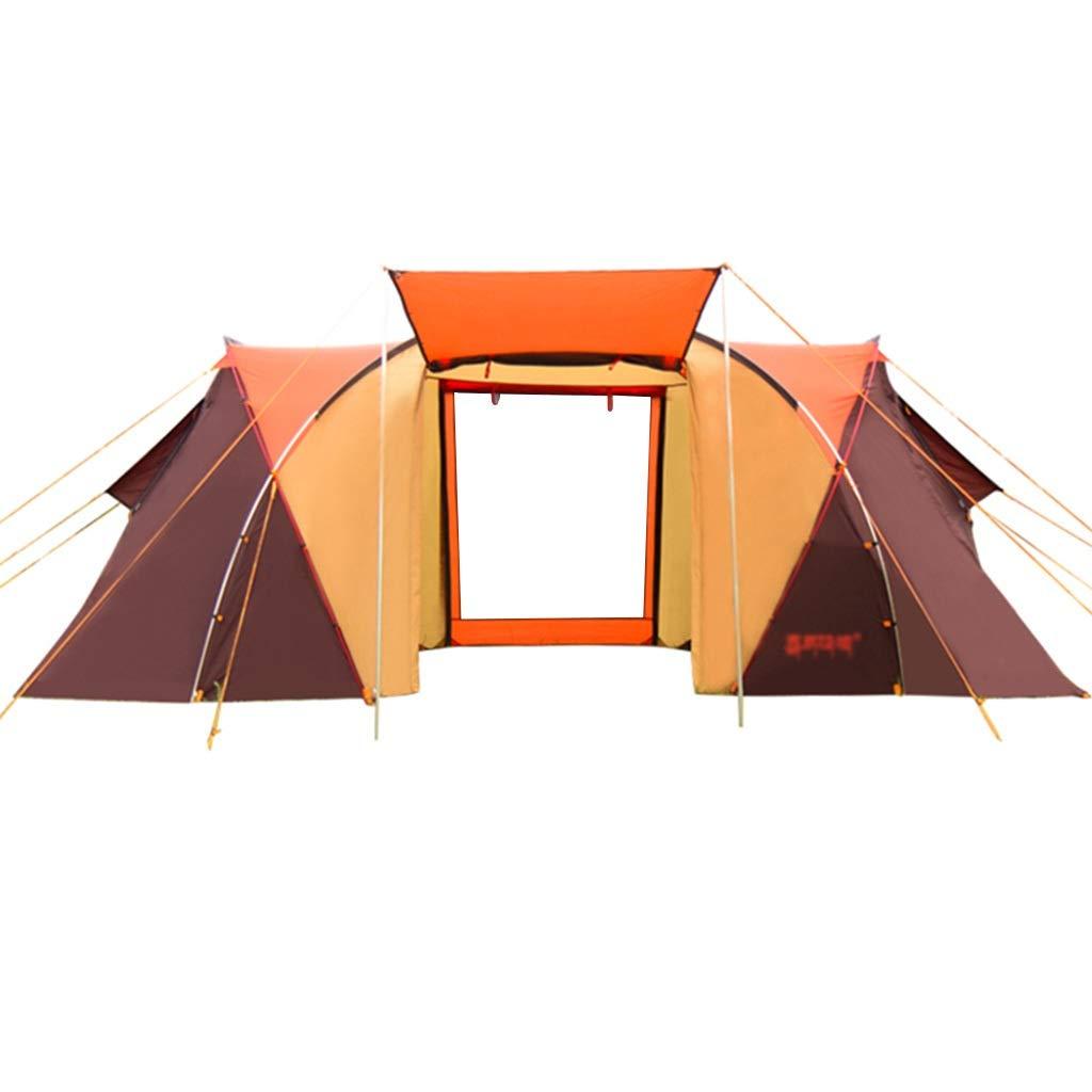 Tiendas de túnel Tienda de campaña Túnel Ultraligero Tienda de campaña Tienda al Aire Libre Campamento de Calidad Campamento para 4-6 Personas Dos Habitaciones Carpa Familiar de una habitación: Amazon.es: Deportes y