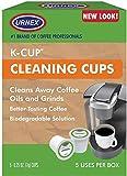 Urnex Cleaning 5 Keurig K-Cup Coffee Single Serve Brewing Machine Cleaner, 1, White