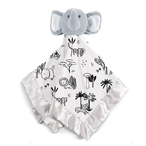 Magnificent Baby Baby Infant Modal Lovey Security Blanket - Elephant