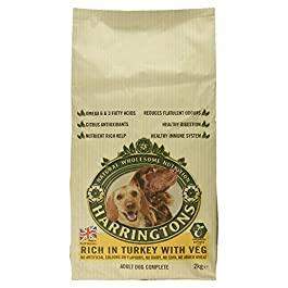 Harringtons Complete Dry Dog Food Rich in Turkey with Vegetables, 2kg