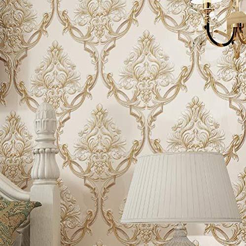 Behang 3d Embossed Bedroom Hotel Woonkamer Bank Achtergrond Muur Papier