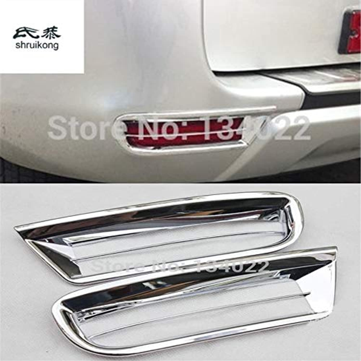 For 20092013 Toyota RAV4 ABS Electroplating Chrome Plated The Back Fog lamp Decoration