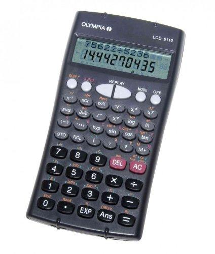 Olympia LCD 8110 calcolatrice Tasca Calcolatrice...