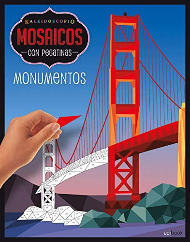 KALEIDOSCOPIO-MOSAICOS CON PEGATINAS ADULTOS- MONUMENTOS: Kaleidoscopio. Mosaicos pegatinas adultos. Monumentos: 3