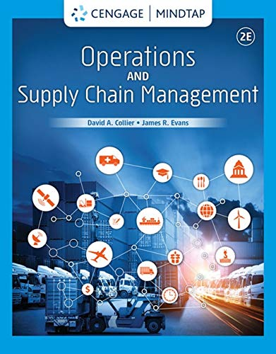 Operations and Supply Chain Management (Mindtap Course List)