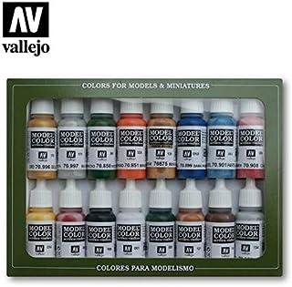 Model Color Paint Set - Folkstone Basic Colors