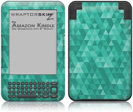 WraptorSkinz Triangle Mosaic Max 70% OFF Bargain Seafoam Green Style - Skin fi Decal