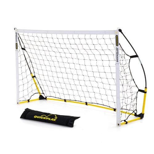 Kickster Academy - Portería portátil, color amarillo, 1,8 x 1,2 m