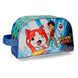 Neceser Yo Kai Watch Nathan doble compartimento adaptable a trolley