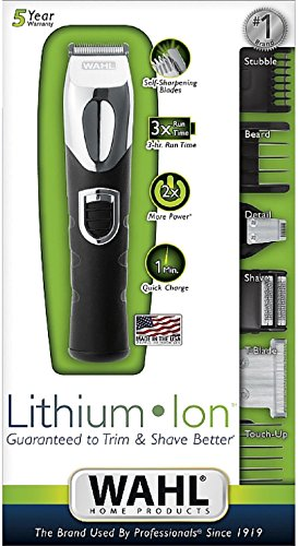 Wahl All-In-One Rechargeable Lithium Ion Trimmer 1 ea