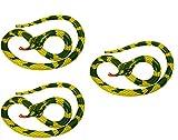 Style Wise Fashion - Serpiente hinchable (230 cm), color verde