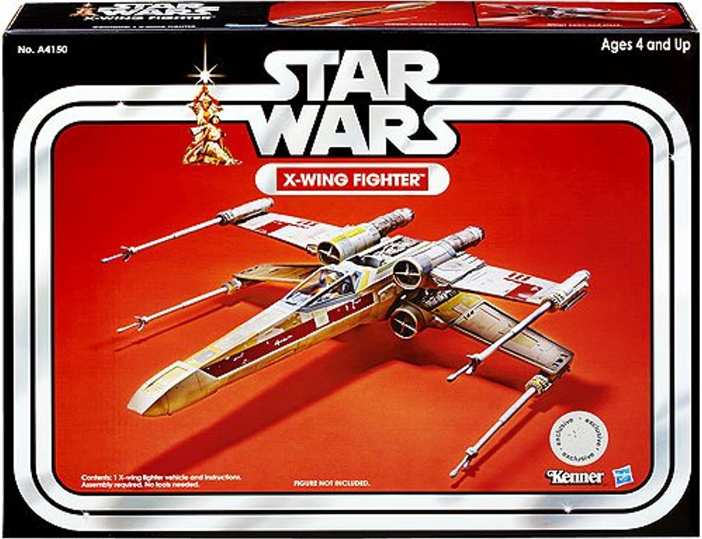 Star Wars 2013 Vintage Collection Vehicle X-Wing Fighter putcyxatzcwo