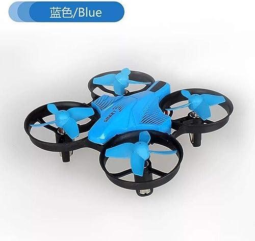 Fennd Quadcopter Mini-Drohne sturzsicherer Quadcopter Fernbedienung Flugzeugmodell cool @ Blau Standard ohne Luftbildaufnahmen mit Fester H