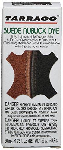 Tarrago Suede Nubuck Dye - Tinta para ante y nubuck, zapatos y bolsos, Unisex adulto, Marrón (Dark Brown 06), 50 mL
