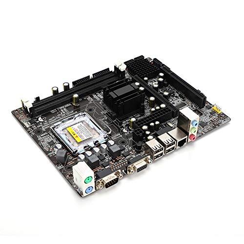 Placa Base para computadora DDR2 667 / 800MHz, Placa Base para computadora de Escritorio para chipset Intel 945GC + ICH, Ranura para Tarjeta gráfica PCI-E, excelente Rendimiento