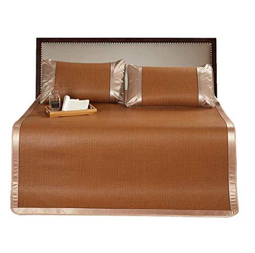 ZXL slaapmatras pad zomer beddengoed rotan airconditioning mat ademende vouwen (grootte: 150X195cm)