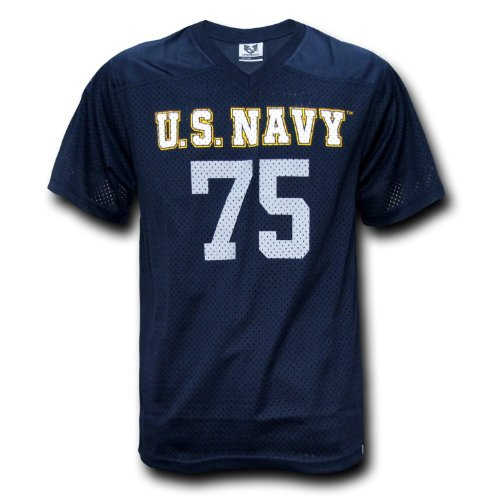 us navy football jersey - 1