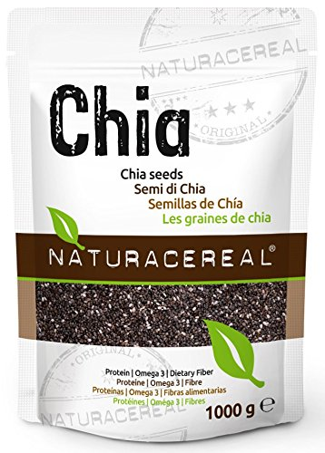 Naturacereal Premium Chia Seeds – Proven Quality in Germany (1 x 1 Kg