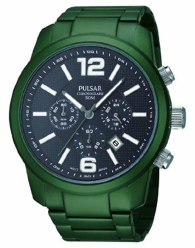 Pulsar Reloj de Pulsera para Hombre XL analógico de Cuarzo Aluminio PT3185X 1