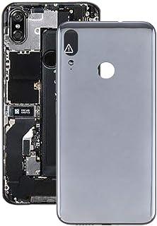 Mobile Phones Communication Accessories Battery Back Cover for Motorola Moto E6 Plus (Color : Black)