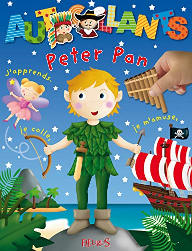 Peter Pan : J'apprends, je colle, je m'amuse