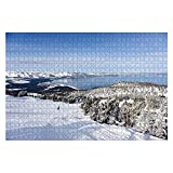 """Jigsaw Puzzles Looking at Lake Tahoe from Heavenly ski Resort for Kids Adults Educational Intellectual Game Gift Large Puzzle Toys DIY Challenge Indoor - 20""""x30""""(1000 Pieces)"""