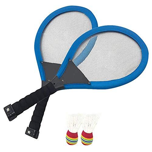 Sansund Badminton-Schläger, Outdoor-Nachtlicht, Training, LED-Badmintonschläger-Set, leuchtet im Dunkeln, Familienunterhaltung Standard