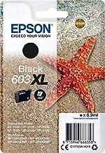 Epson Tinta Negra XL Estrella DE MAR 1 Tinta 603XL RF/Am Single