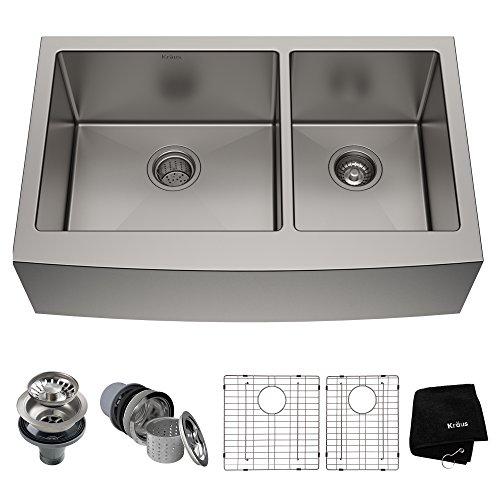 Kraus KHF203-36 Standart PRO Kitchen Stainless Steel Sink