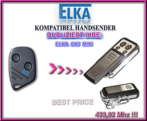 ELKA SKJ MINI kompatibel handsender, klone fernbedienung, 4-kanal 433,92Mhz fixed code. Top Qualität Kopiergerät!!!