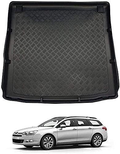 Car Kofferraummatten für Citroen C5 Tourer (08-16), Kofferraumschutz Gummimatte Antirutschmatte Auto KofferraumzubehöR