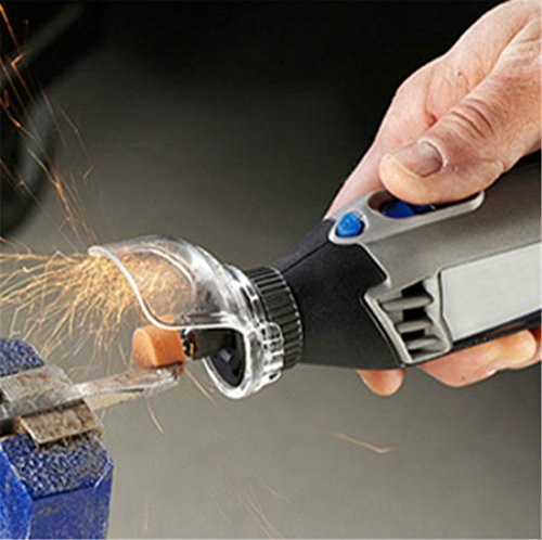KEHUASHINA A550 grinder protecting Startseite Zubehör für Akku-Winkelschleifer Trennscheibe Rotationswerkzeug Schutzhülle für Vermeiden Sie das Verspritzen von Schmutz und Funken