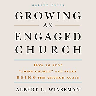 Growing an Engaged Church audiobook cover art