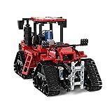 PEXL Technik LKW Bausteine Bausatz, Technic Traktor Modell, 1566 Klemmbausteine Kompatibel mit Lego...