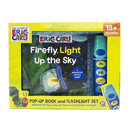 World of Eric Carle, Firefly, Light Up the Sky - Little Flashlight Pop-Up...